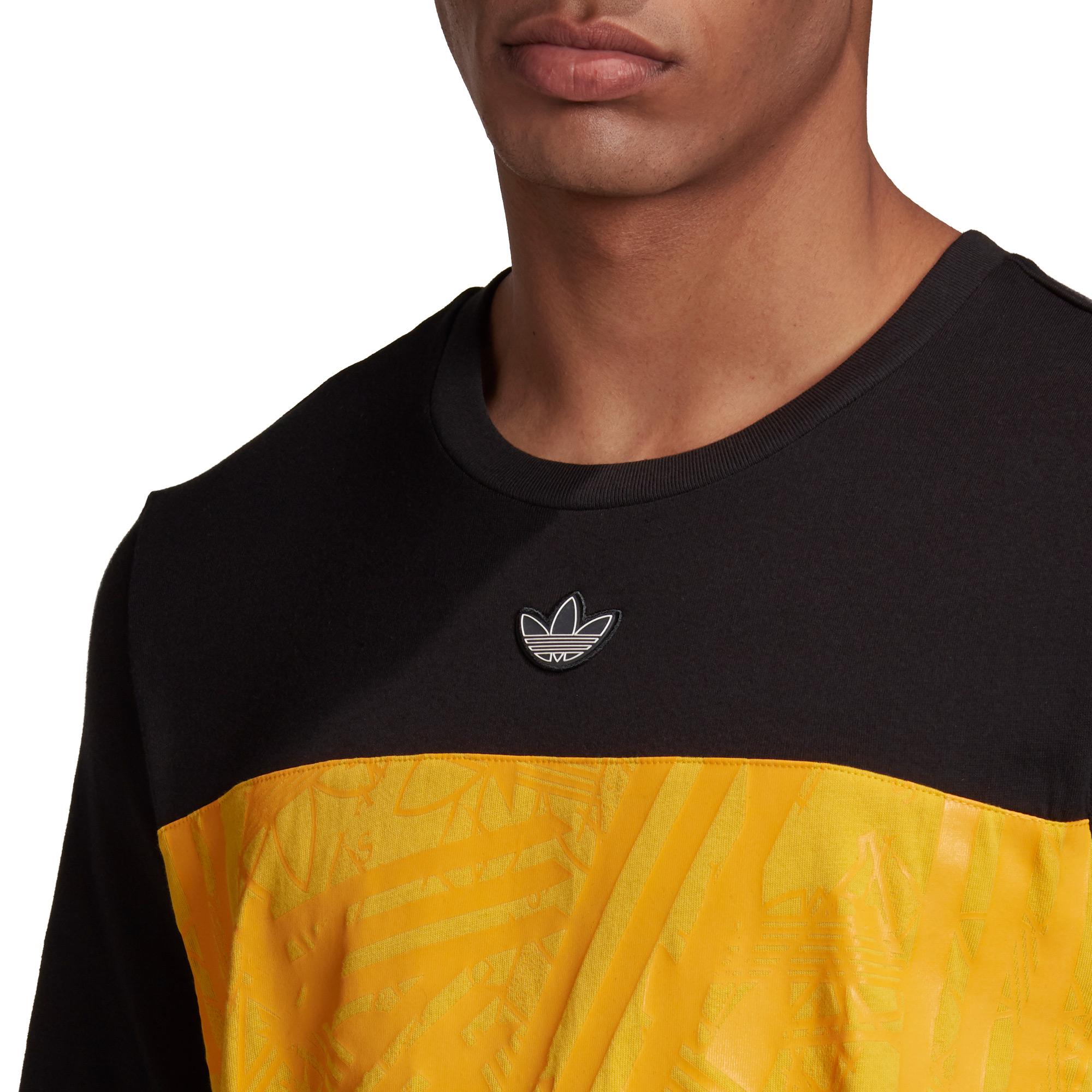 adidas Panel Trefoil Erkek Siyah T-Shirt