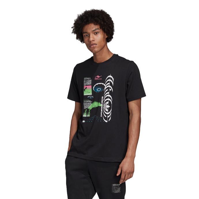 Torsion Erkek Siyah T-Shirt