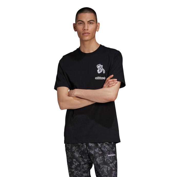 Goofy Erkek Siyah T-Shirt