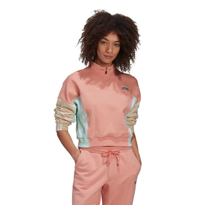 R.Y.V. Kadın Pembe Sweatshirt