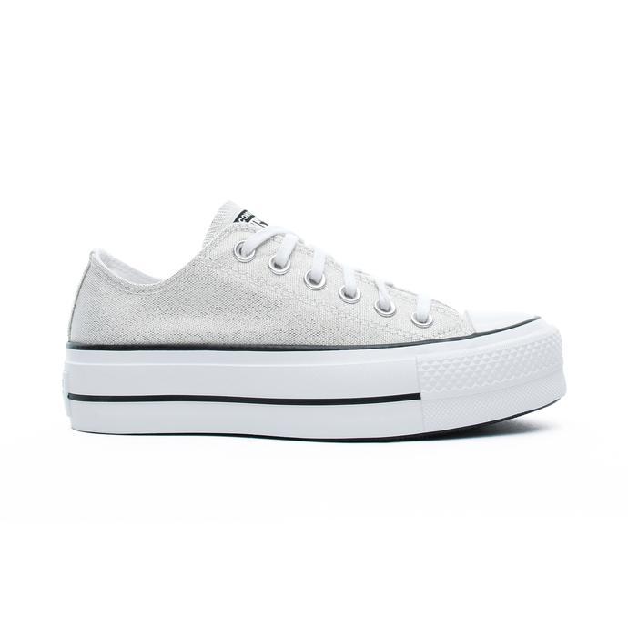Chuck Taylor All Star Lift Ox Kadın Gümüş Sneaker