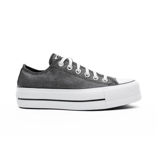 Converse Chuck Taylor All Star Lift Ox Kadın Antrasit Sneaker