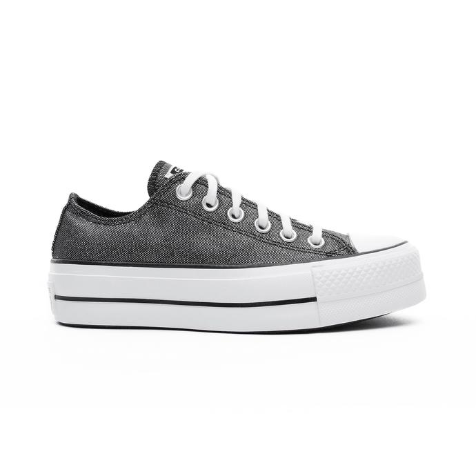 Chuck Taylor All Star Lift Ox Kadın Antrasit Sneaker