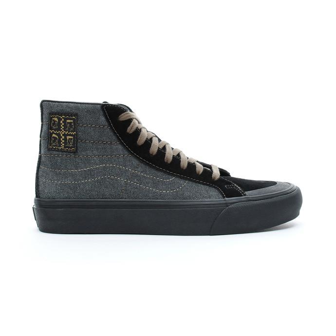 Micheal February Sk8-Hi 138 Decon SF Erkek Siyah Sneaker
