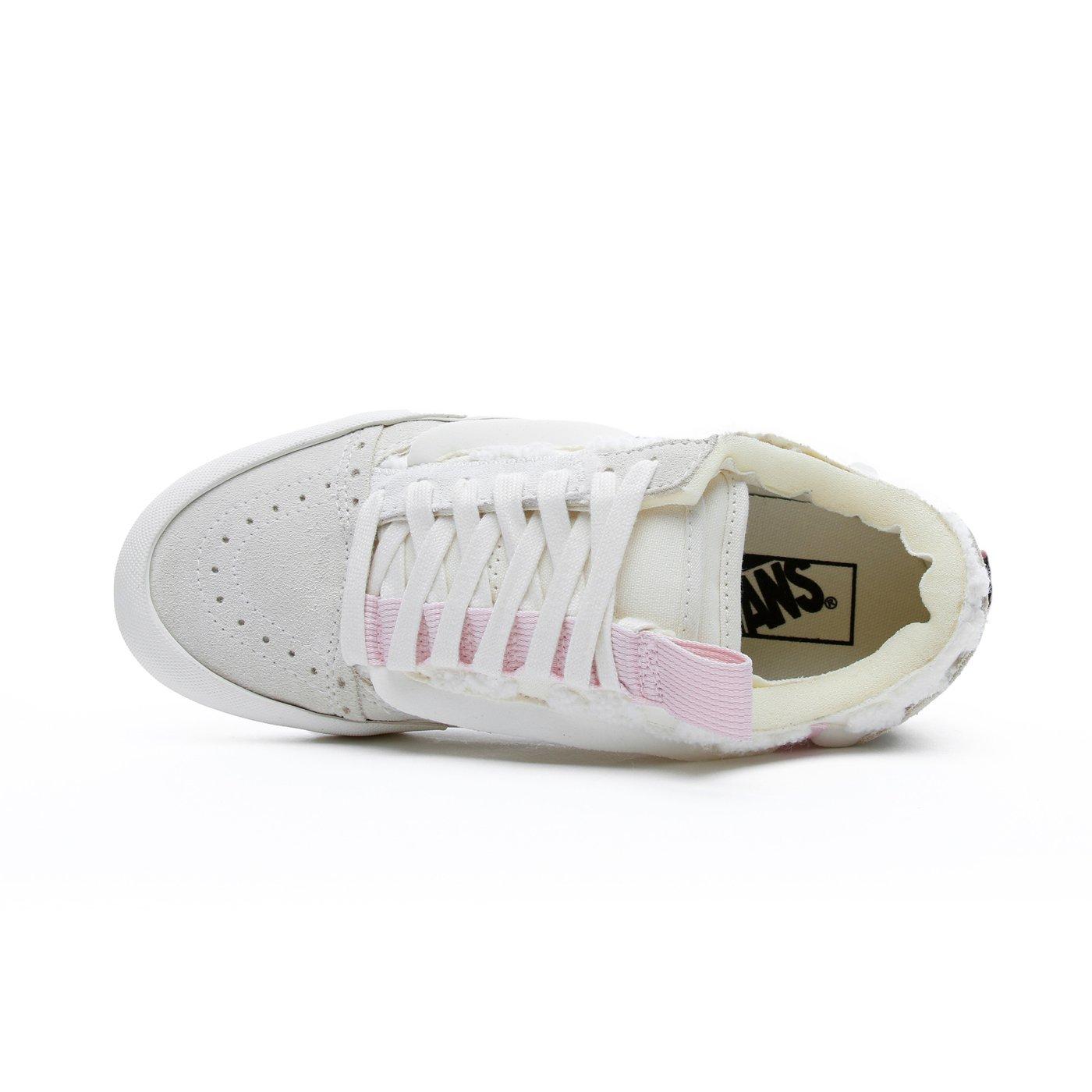 Ua Old Skool Cap Kadın Beyaz Sneaker
