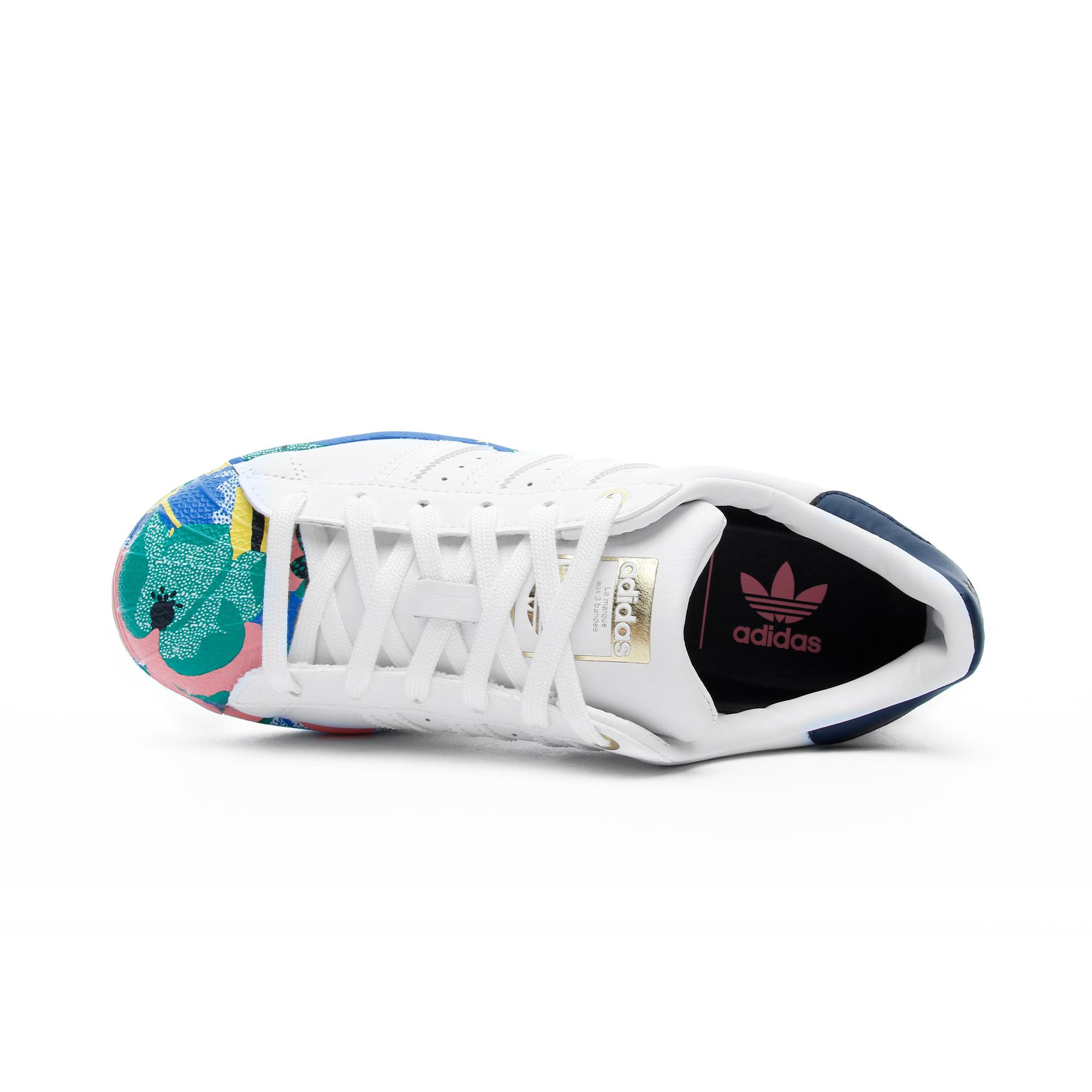 Superstar Kadın Beyaz Spor Ayakkabı
