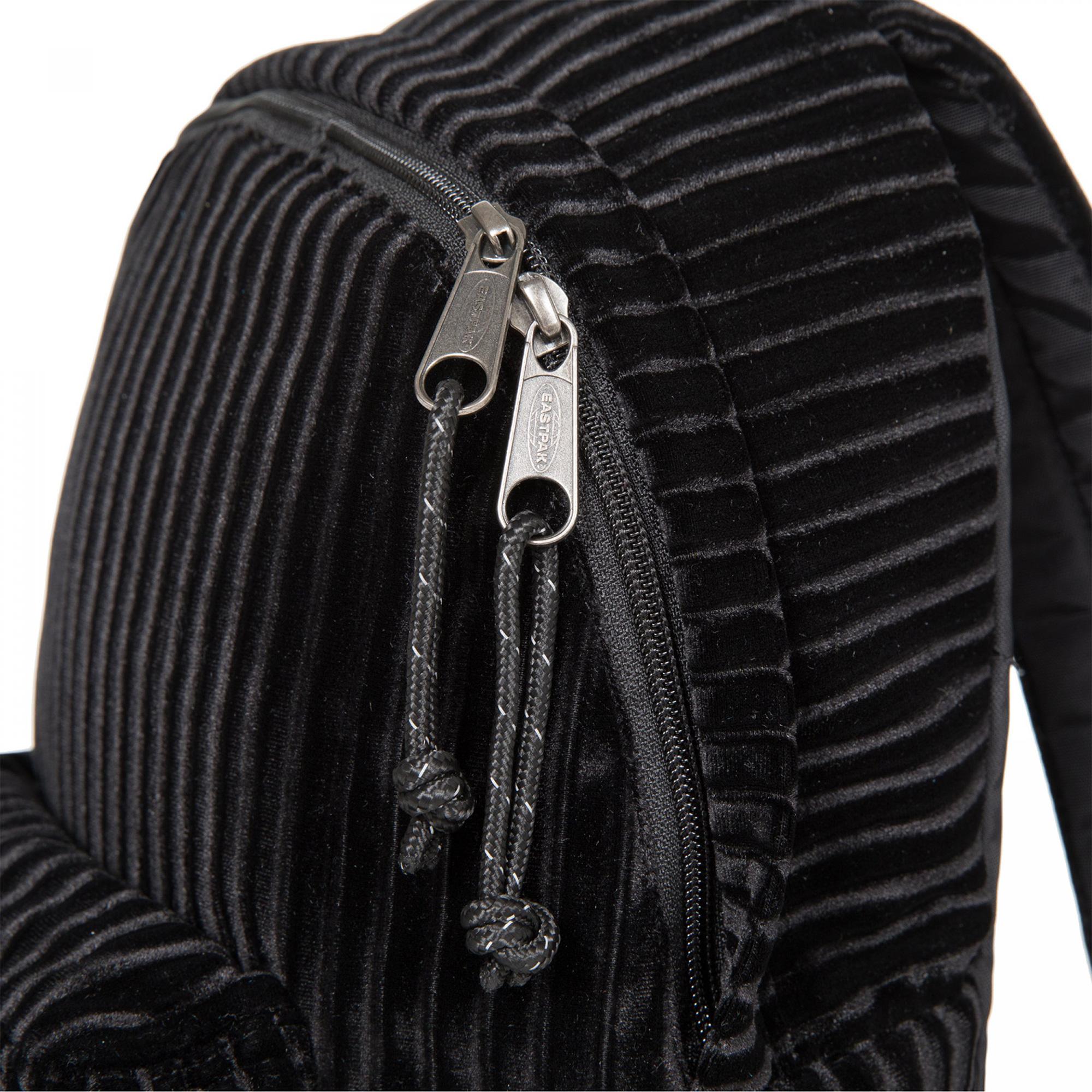 Orbit Unisex Velvet Siyah Sırt Çantası