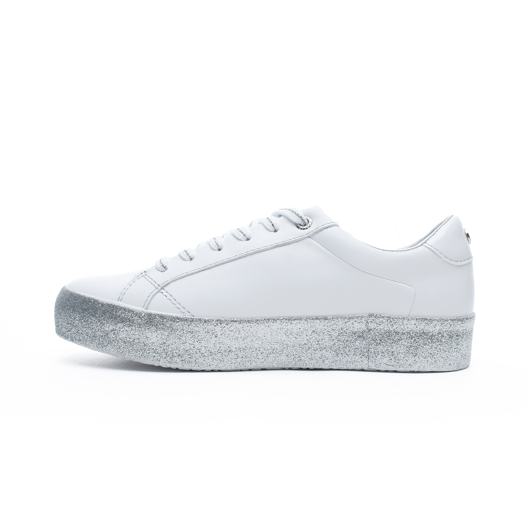 Tommy Hilfiger Glitter Foxing Dress Kadın Beyaz Spor Ayakkabı