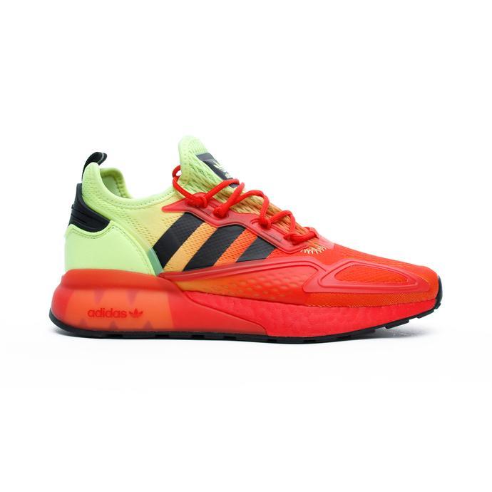 adidas ZX 2K Boost Erkek Turuncu-Sarı Spor Ayakkabı