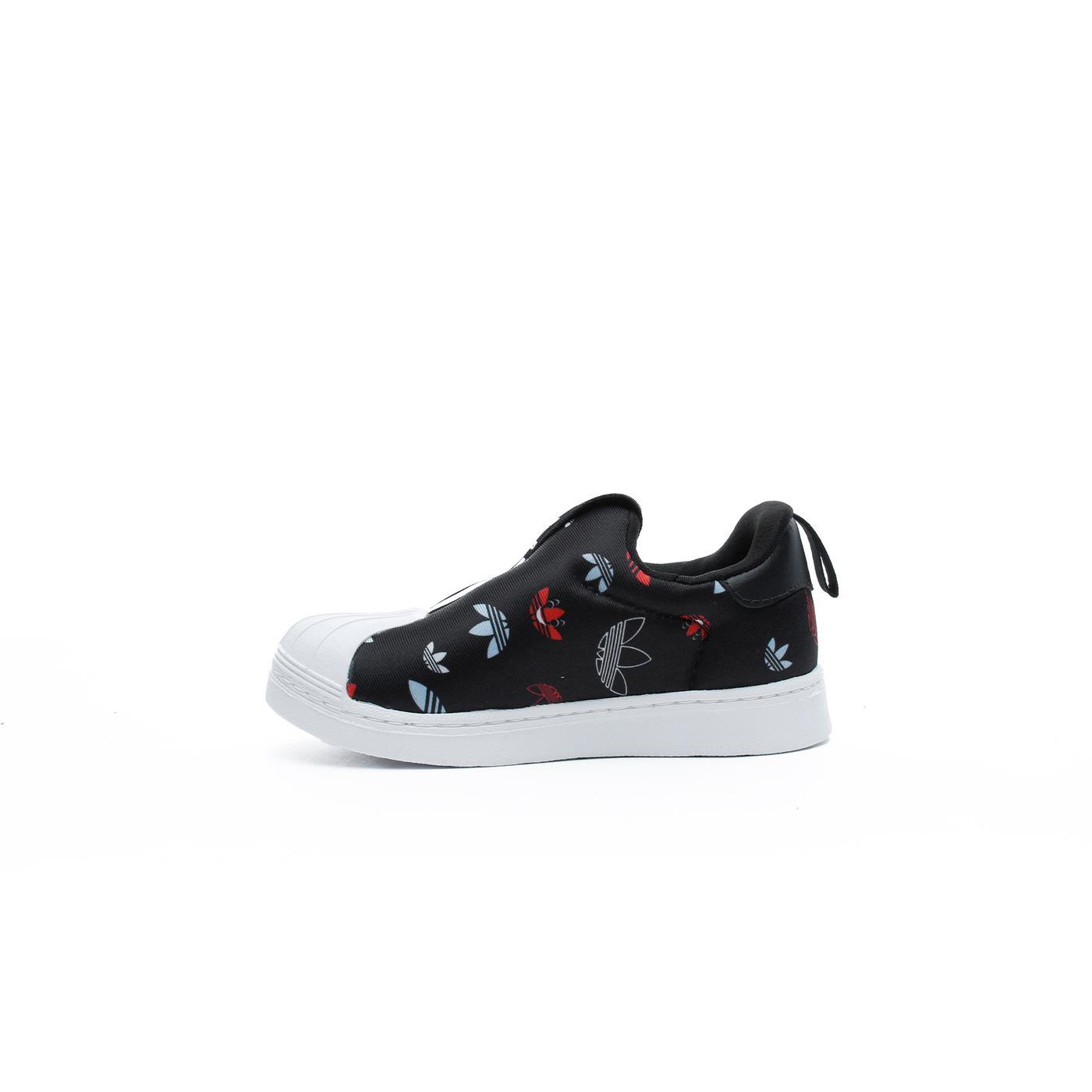 adidas Superstar 360 X Bebek Siyah Spor Ayakkabı