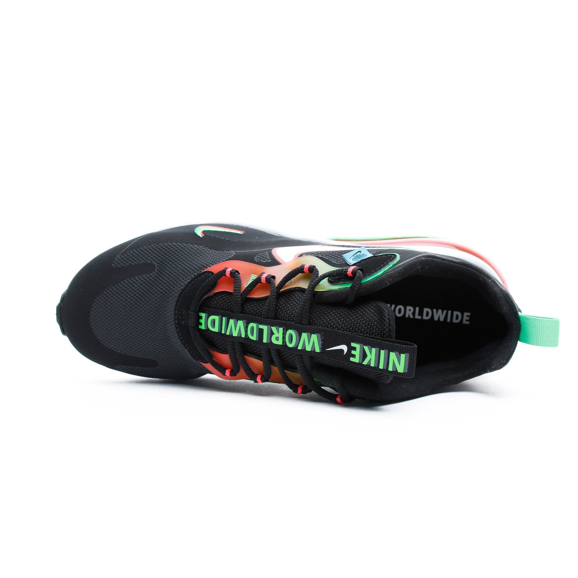 Air Max 270 React Erkek Siyah Spor Ayakkabı