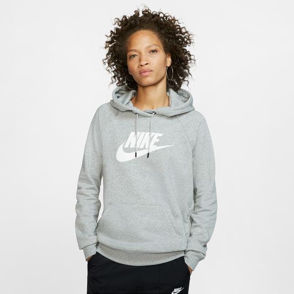 Nike Sportswear Essential Kadın Gri Sweatshirt