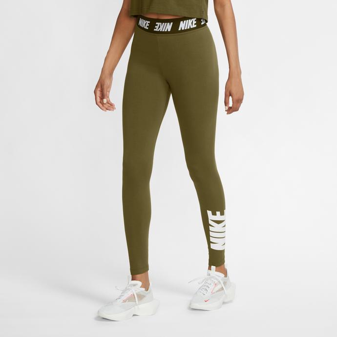 Nike Sportswear Kadın Yeşil Tayt