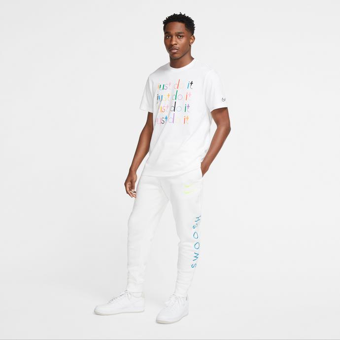 Nike Sportswear Swoosh Erkek Beyaz Eşofman Altı