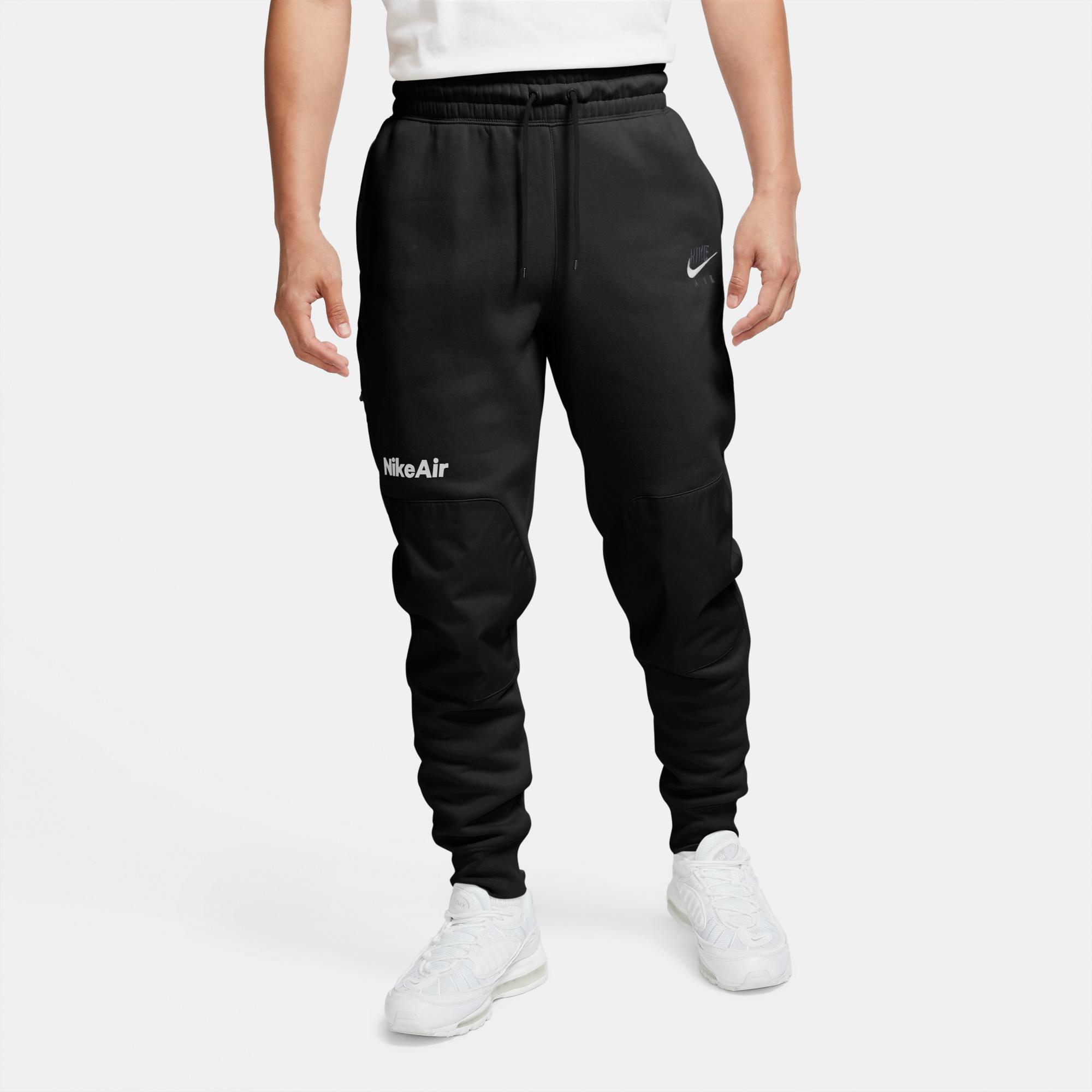 Nike Air Erkek Siyah Eşofman Altı