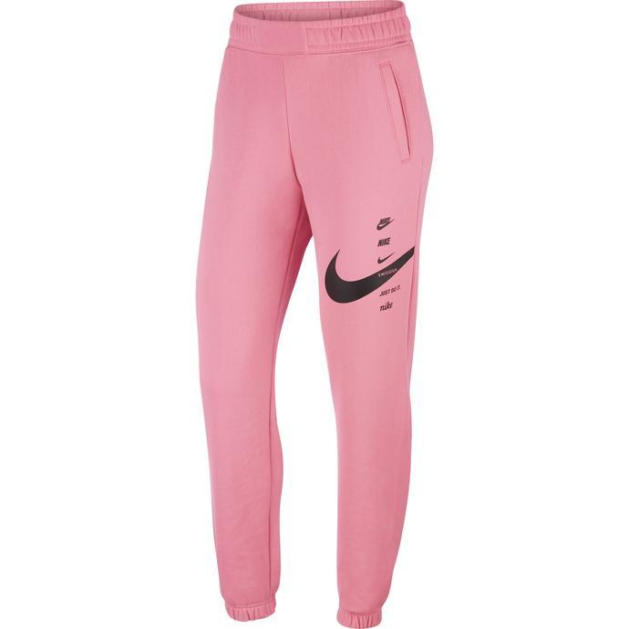 Nike Sportswear Swoosh Kadın Pembe Eşofman Altı