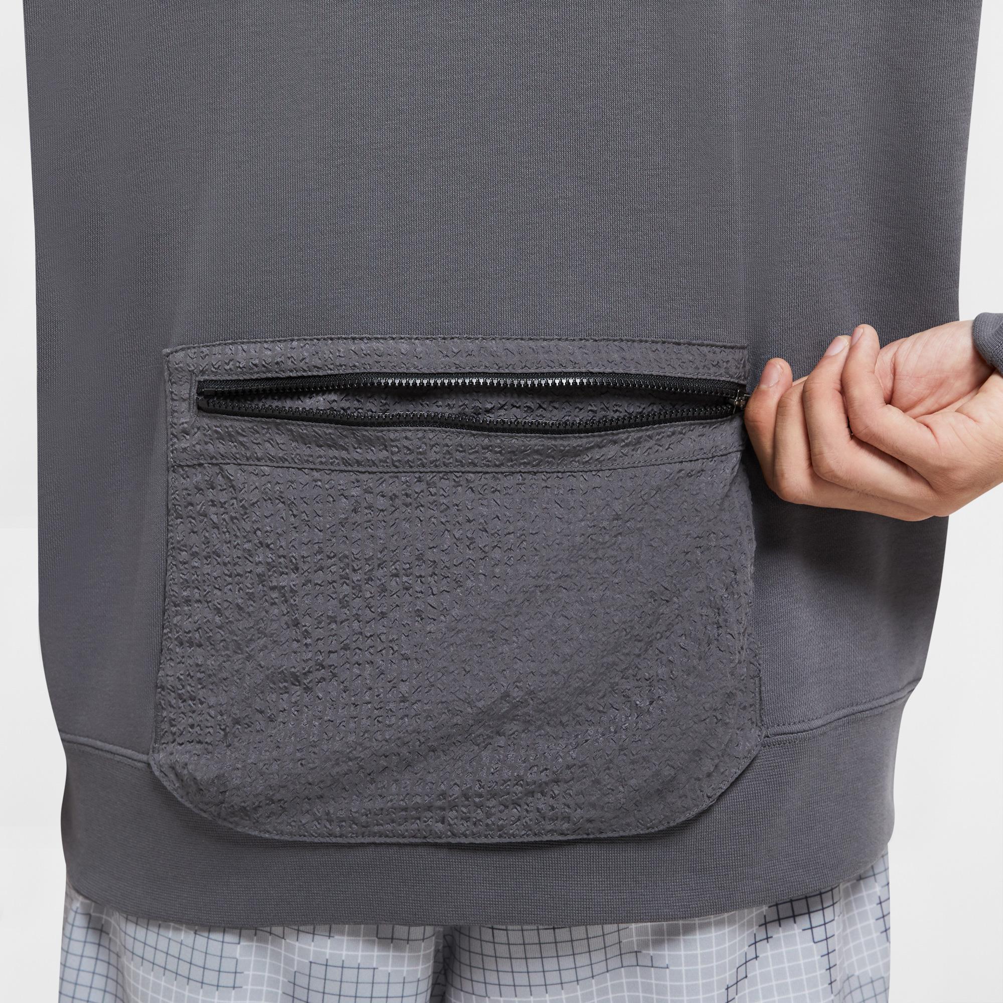 Nike Sportswear Erkek Gri Sweatshirt