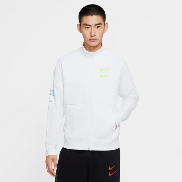 Nike Sportswear Swoosh Erkek Beyaz Eşofman Üstü