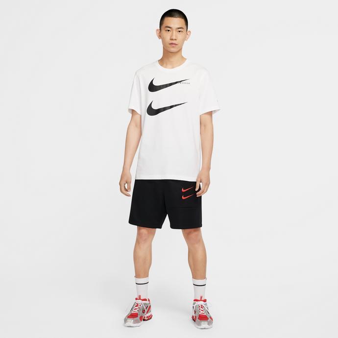 Sportswear Swoosh Erkek Siyah Şort