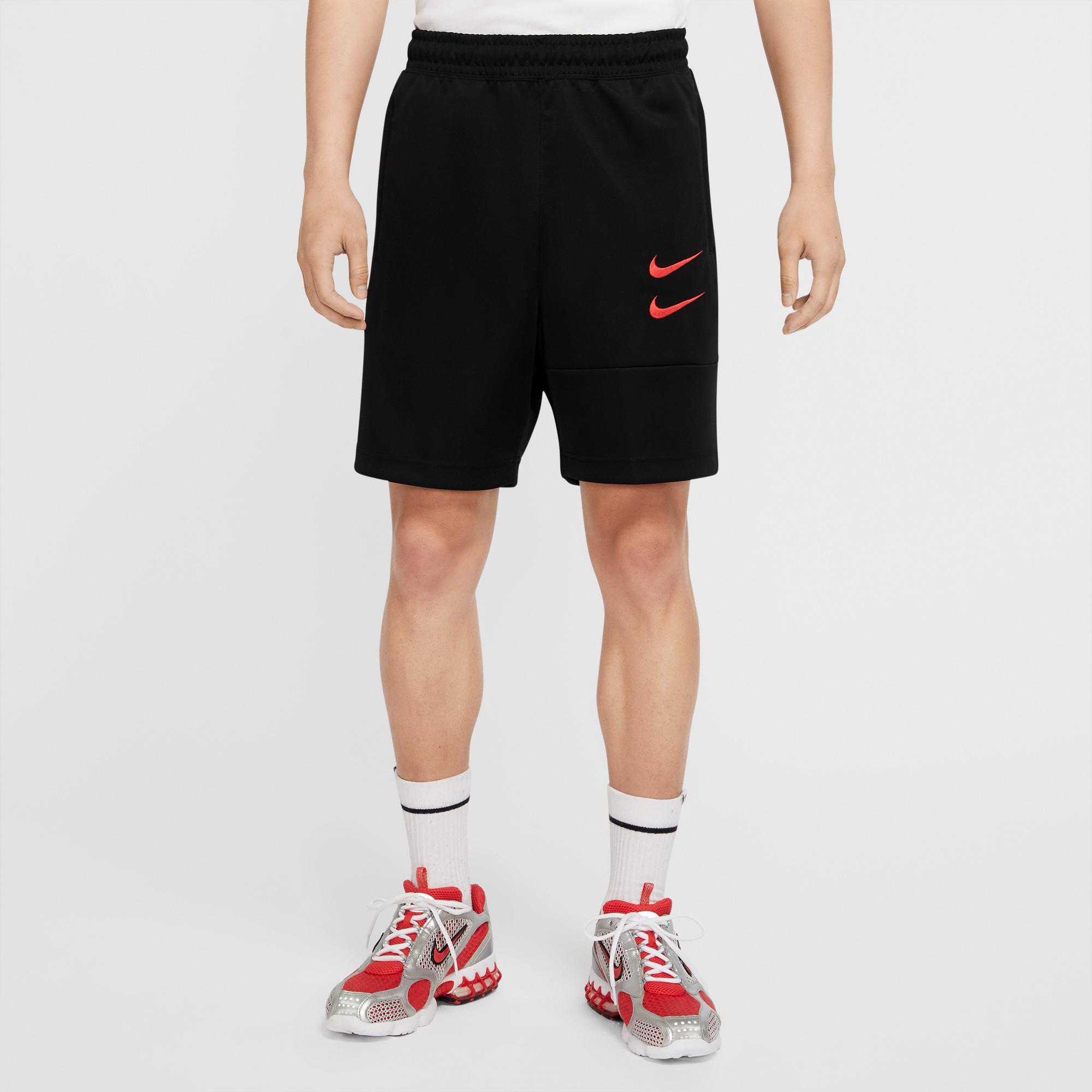 Nike Sportswear Swoosh Erkek Siyah Şort
