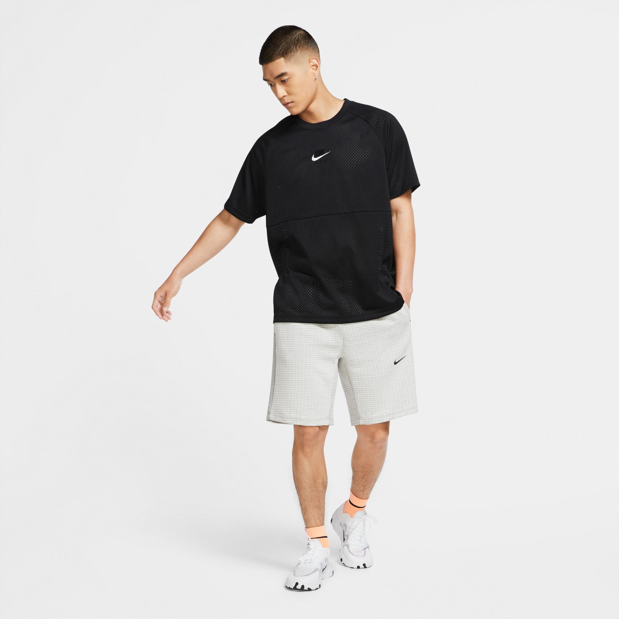 Nike Air+ Erkek Siyah T-Shirt