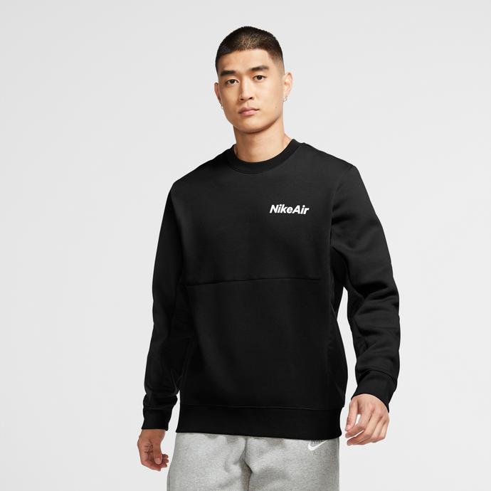 Nike Air Erkek Siyah Sweatshirt