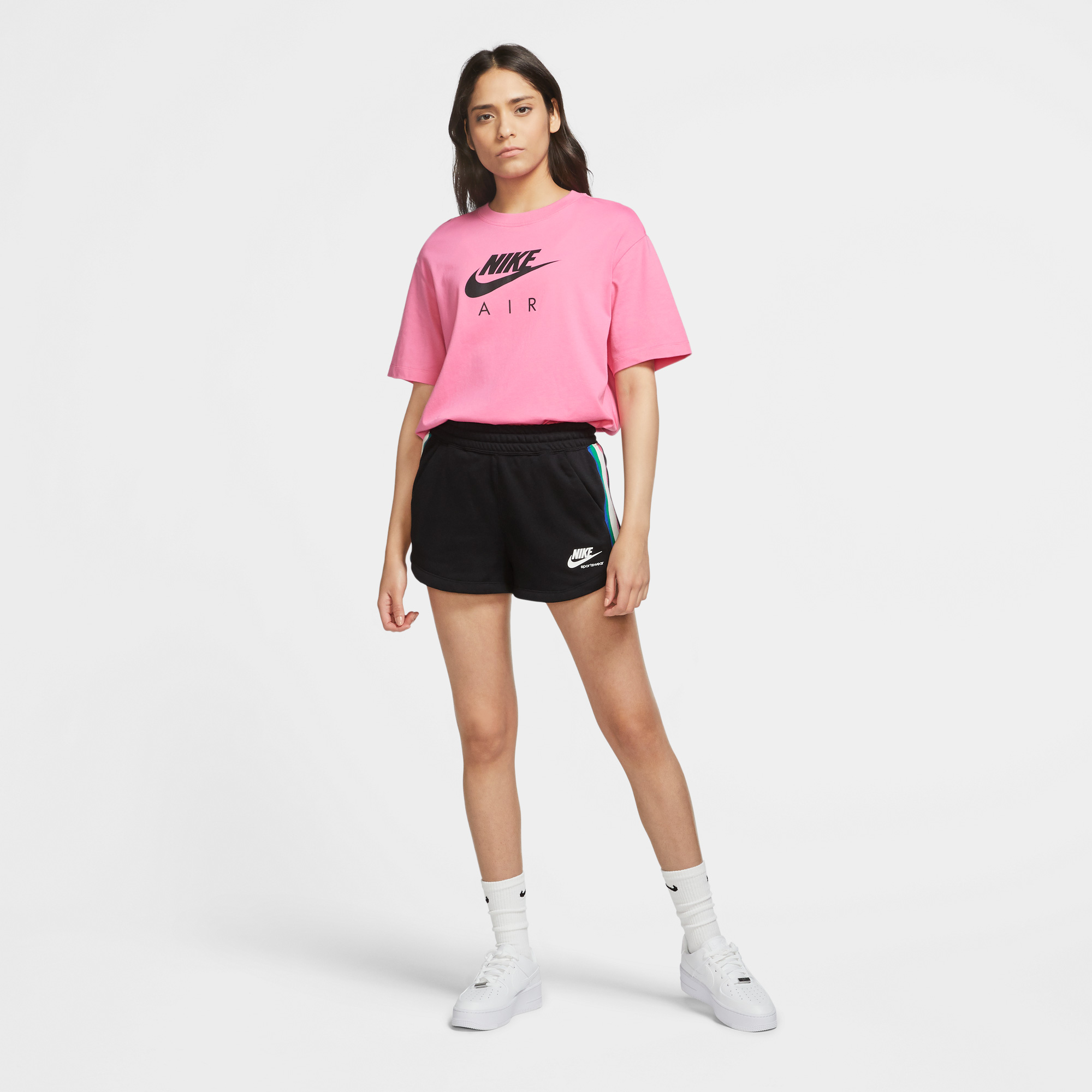 Nike Sportswear Air Kadın Pembe T-Shirt