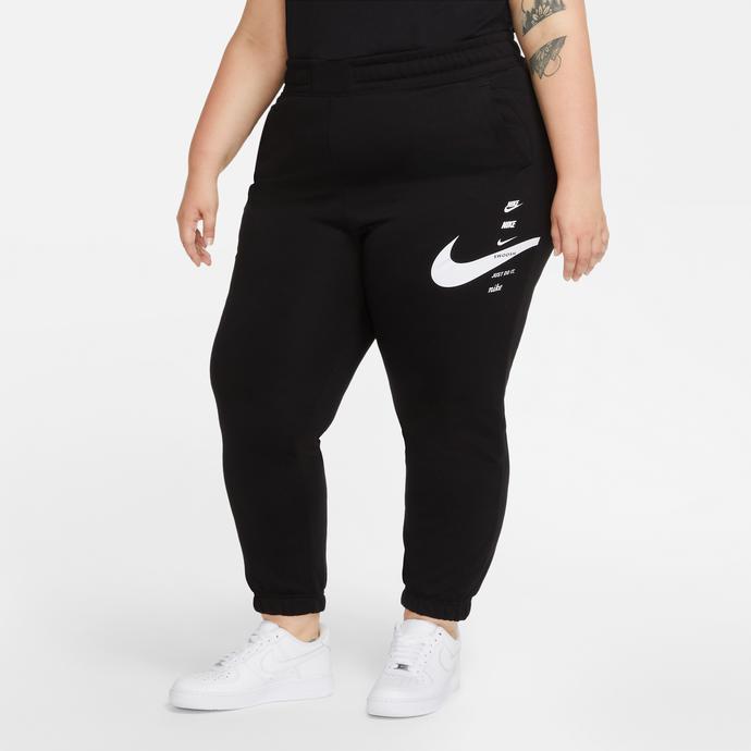 Sportswear Swoosh Kadın Siyah Eşofman Altı