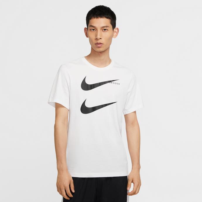 Sportswear Swoosh Erkek Beyaz T-Shirt