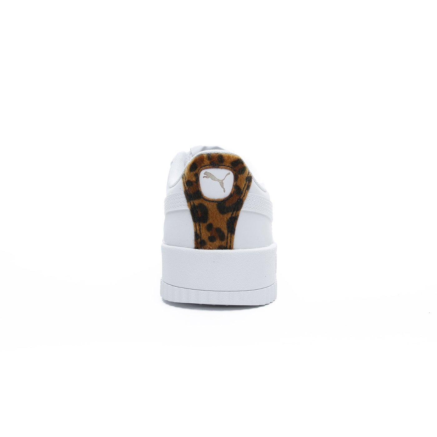 Puma Carina Leo Kadın Beyaz Spor Ayakkabı