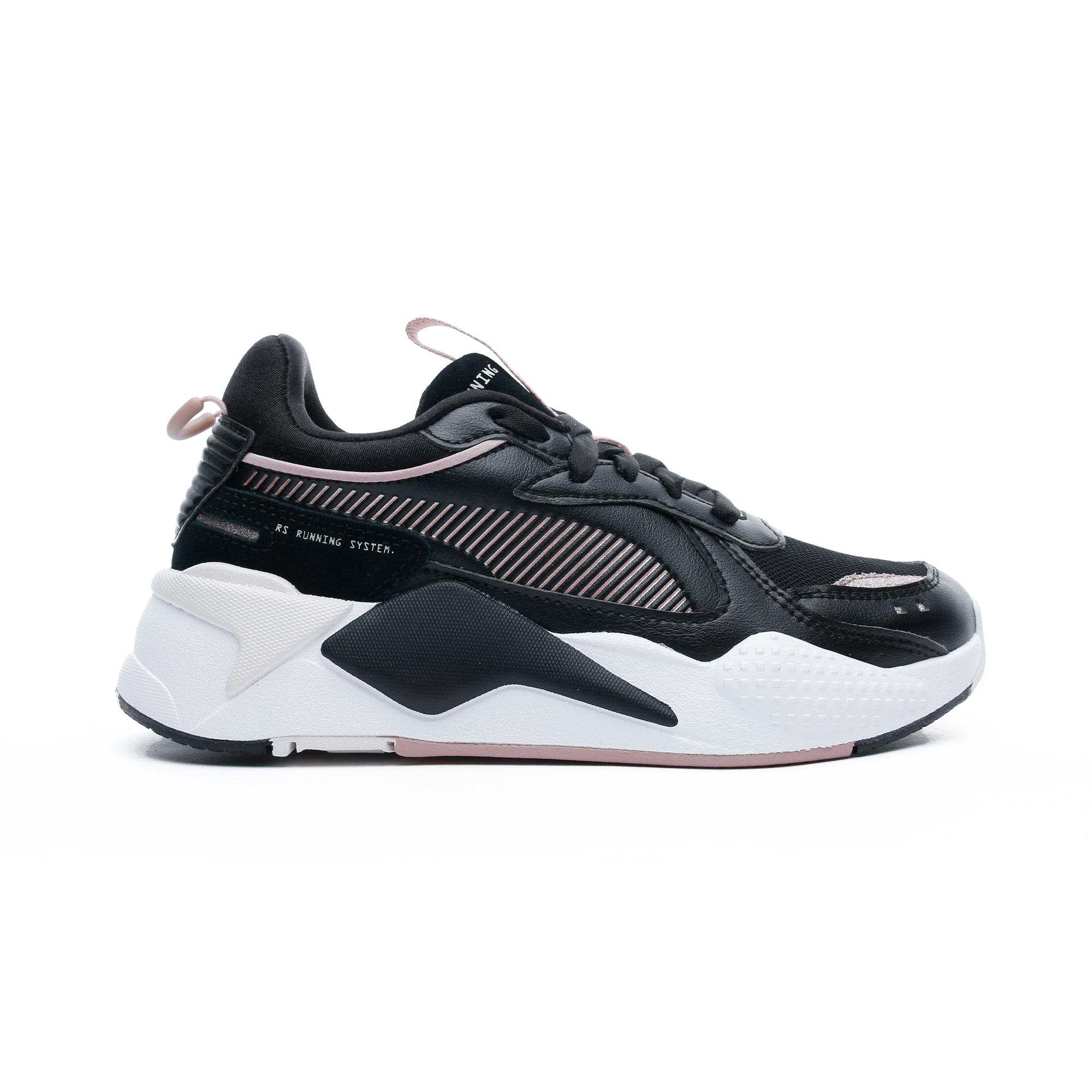 RS-X Mono Metal Kadın Siyah Spor Ayakkabı