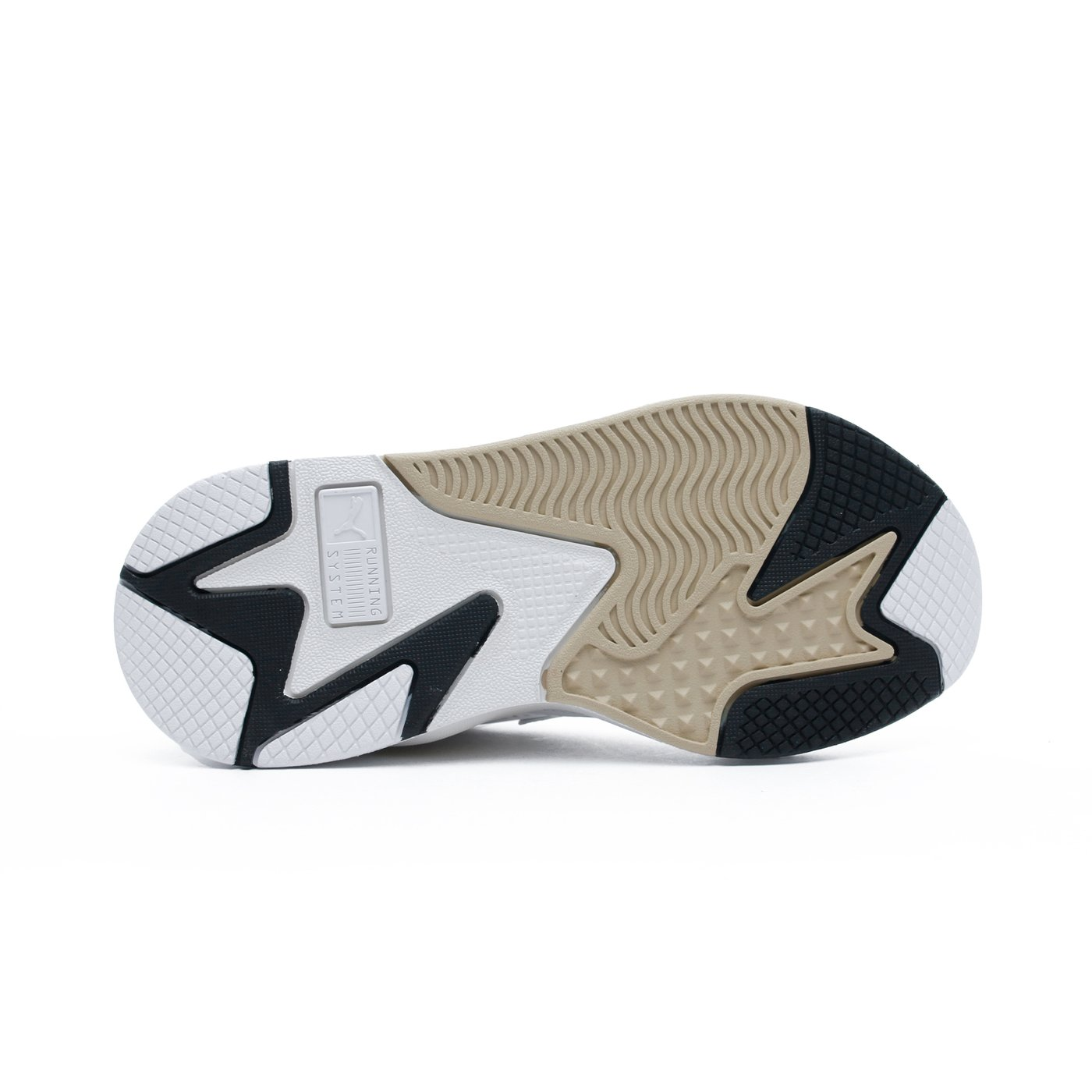 RS-X Mono Metal Kadın Beyaz Spor Ayakkabı