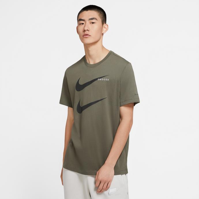 Sportswear Swoosh Erkek Yeşil T-Shirt