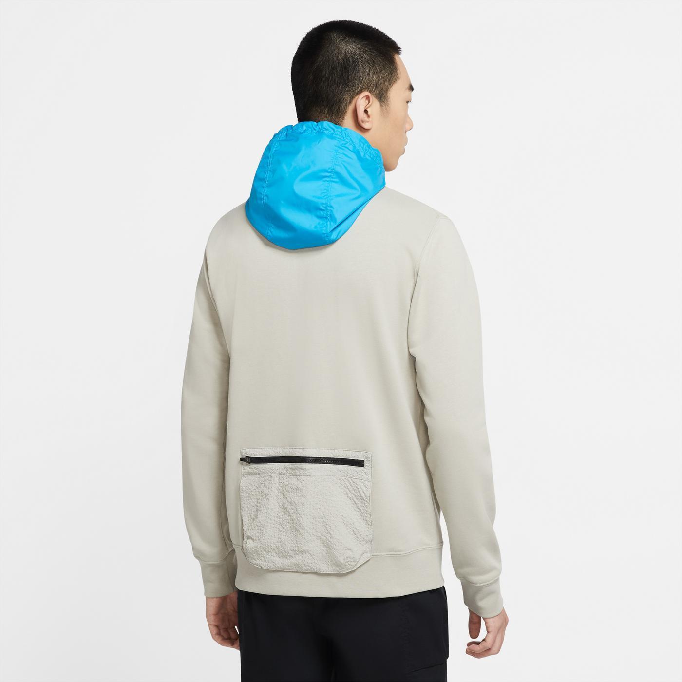 Nike Sportswear Erkek Bej Sweatshirt