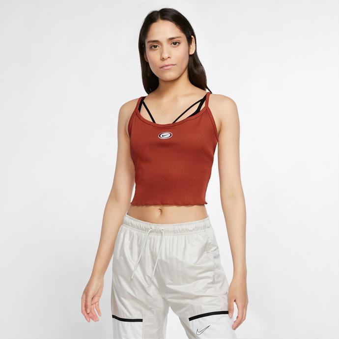 Sportswear Tank Kadın Turuncu T-Shirt