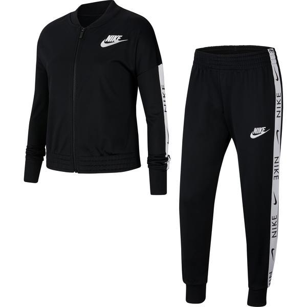 Nike Sportswear Tricot Çocuk Siyah Eşofman Takımı