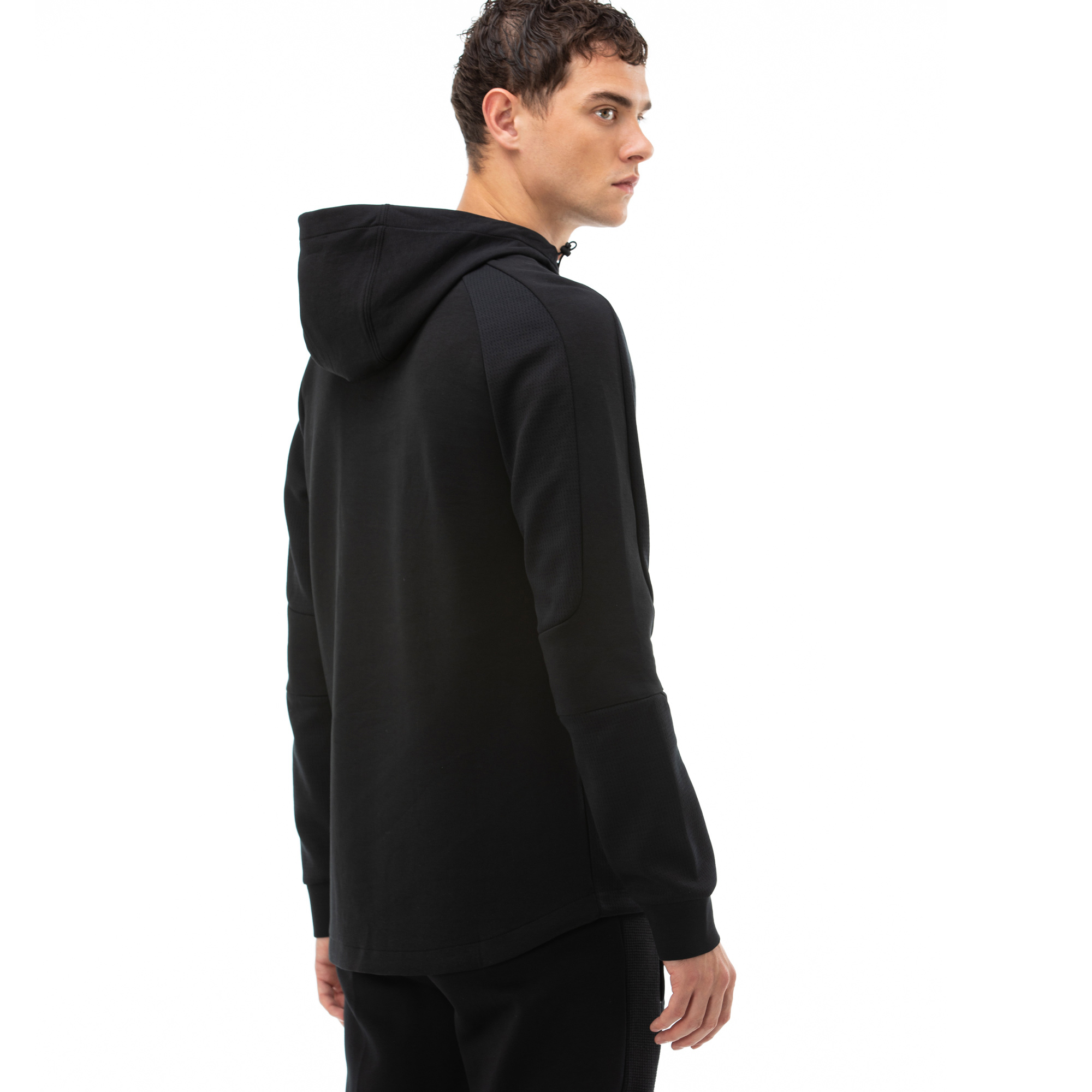 Puma Evostripe Erkek Siyah Sweatshirt