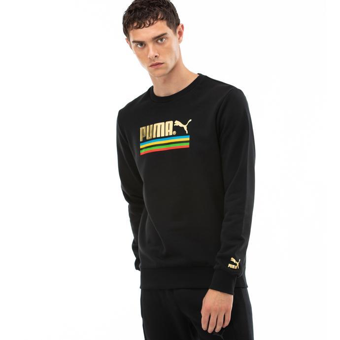TFS Worldhood Erkek Siyah Sweatshirt