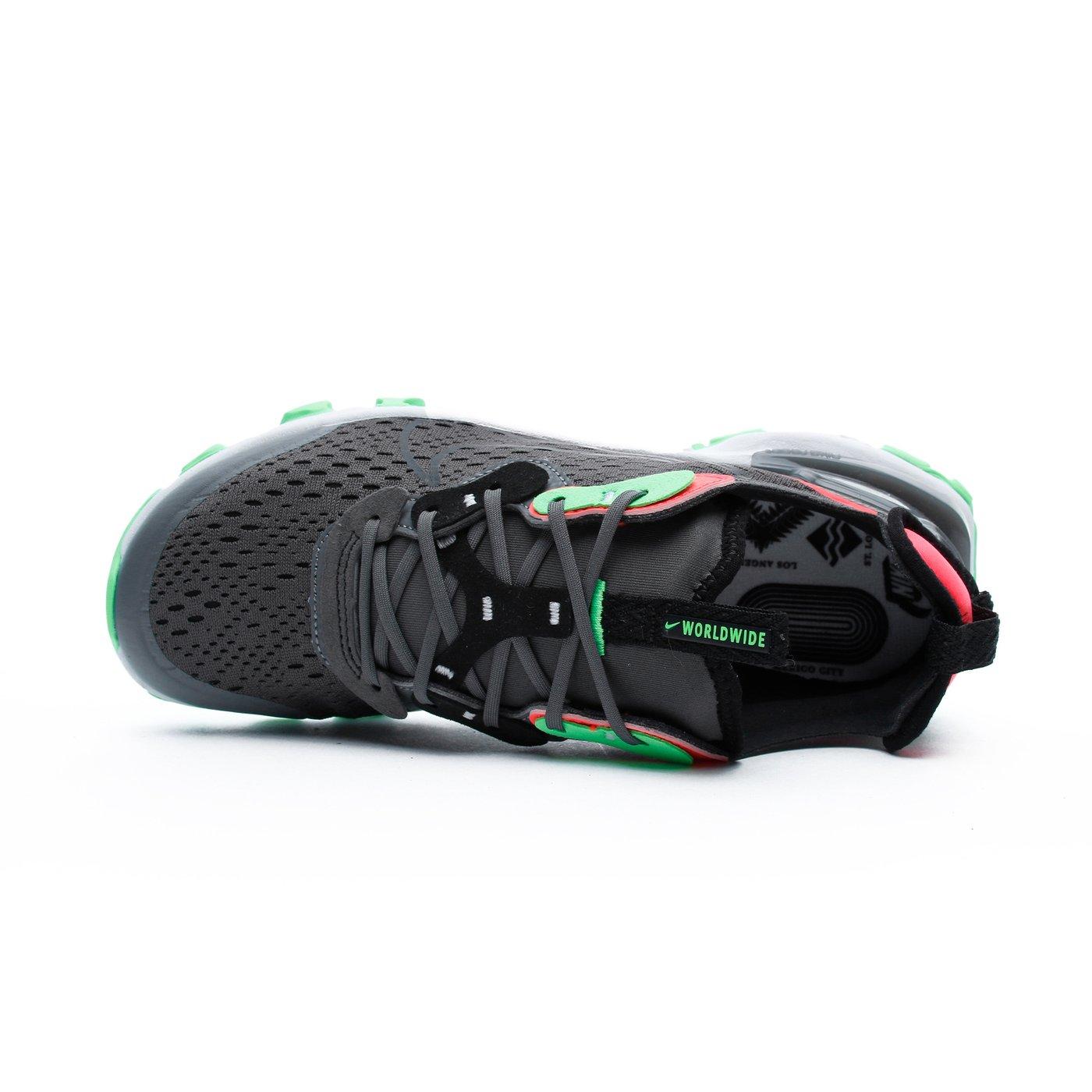 React Vision Kadın Siyah Spor Ayakkabı