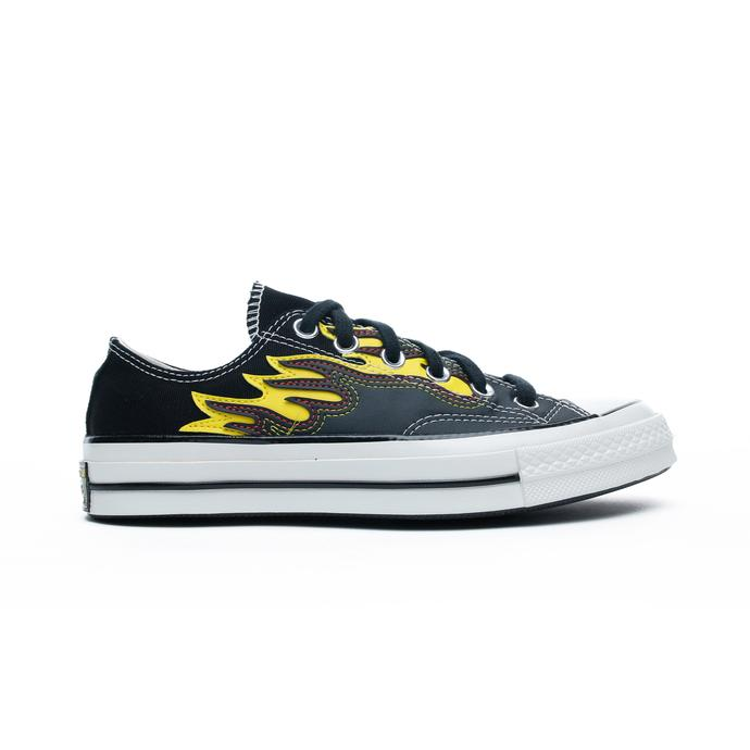 Chuck Taylor 70 Flames Ox Unisex Siyah Sneaker