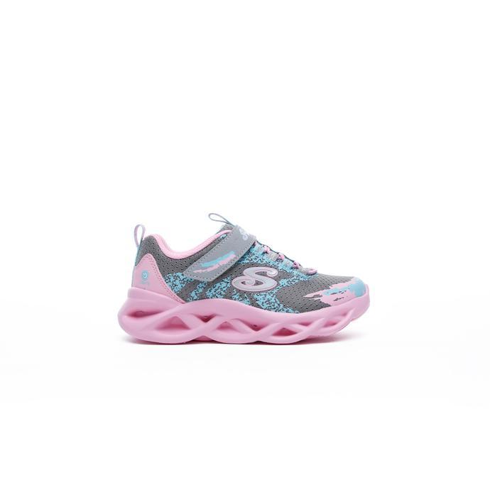 Skechers Twisty Brights Çocuk Gri Spor Ayakkabı