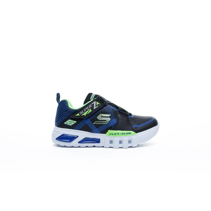 Flex-Glow - Parrox Çocuk Siyah Spor Ayakkabı
