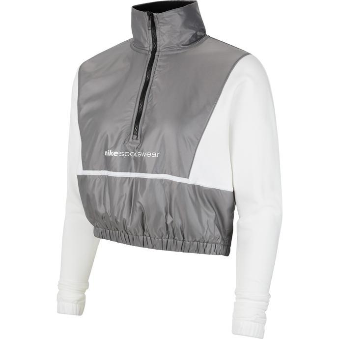 Sportswear QZ Archive Rmx Kadın Beyaz Sweatshirt
