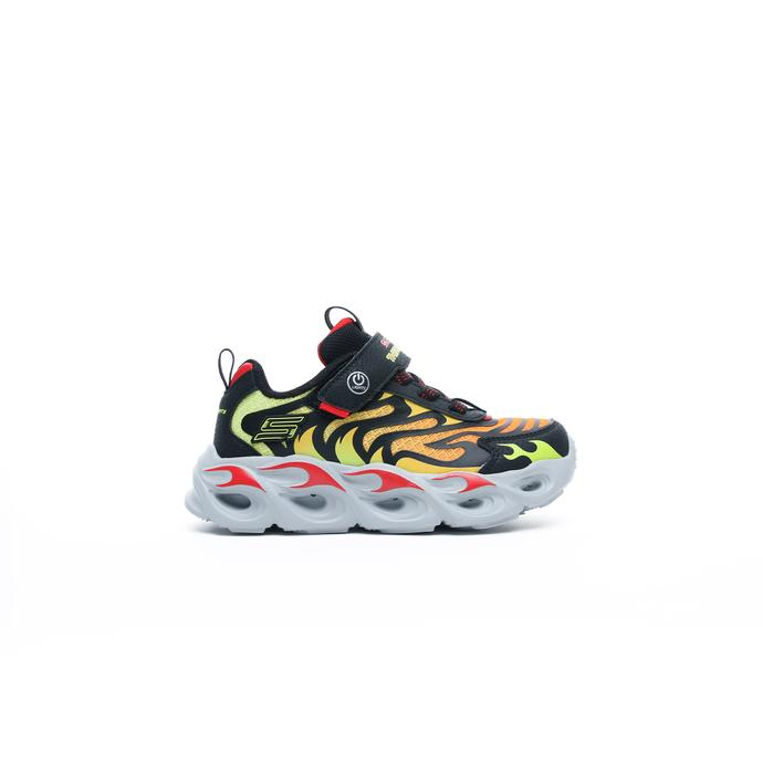 Thermo-Flash Çocuk Siyah Spor Ayakkabı