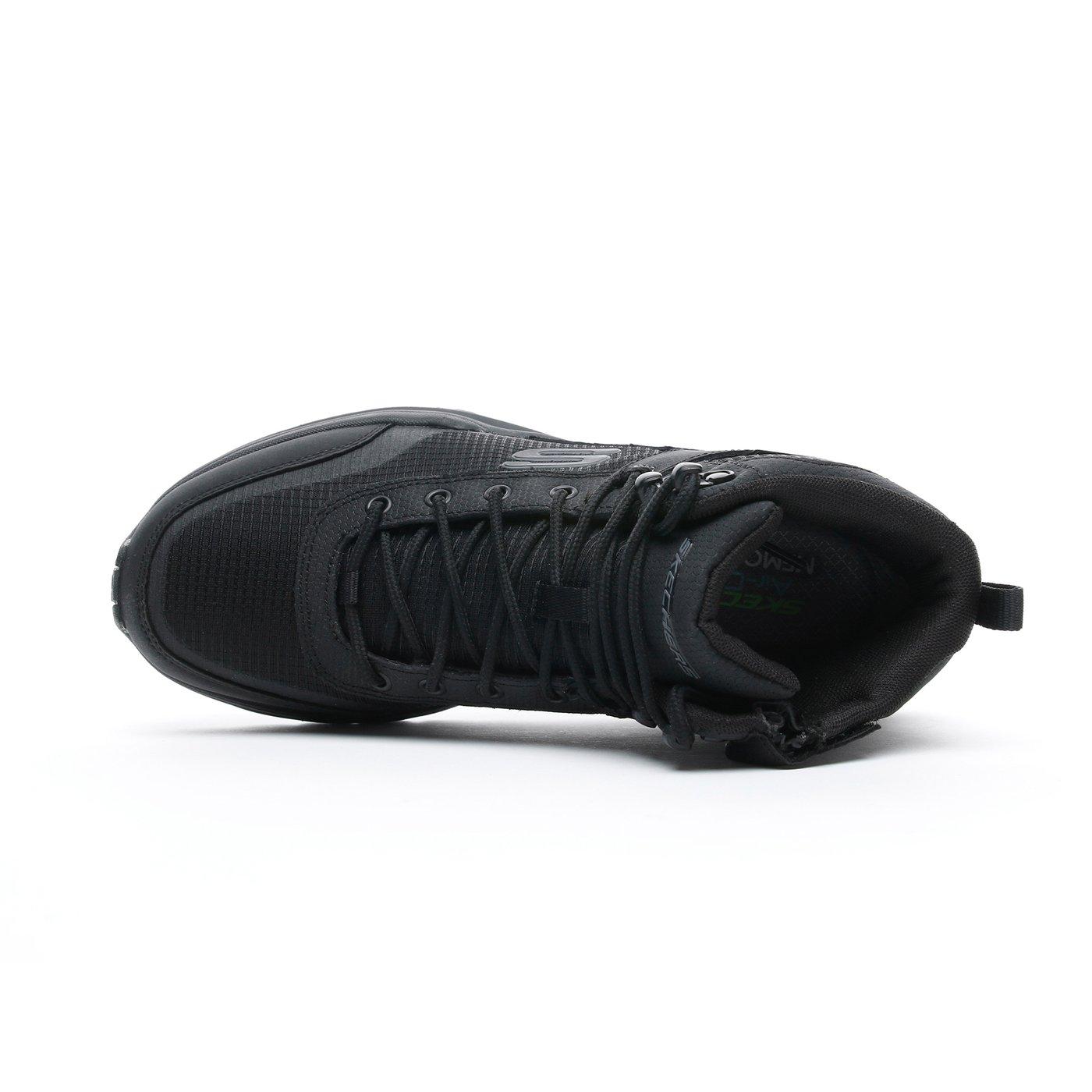 Skechers Escape Plan 2.0-Woodrock Erkek Siyah Spor Ayakkabı