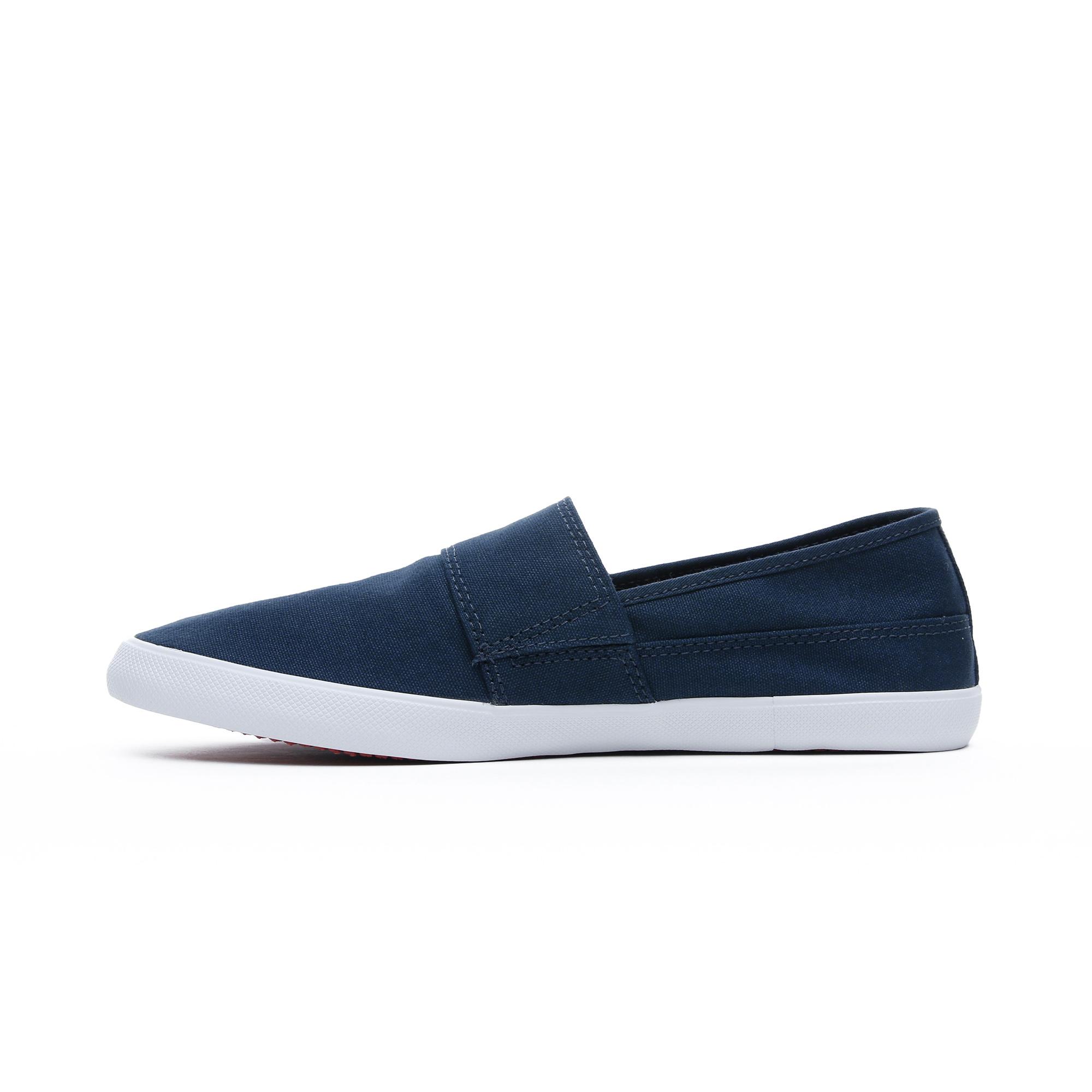 Lacoste Marice Cam Erkek Koyu Mavi Spor Ayakkabı