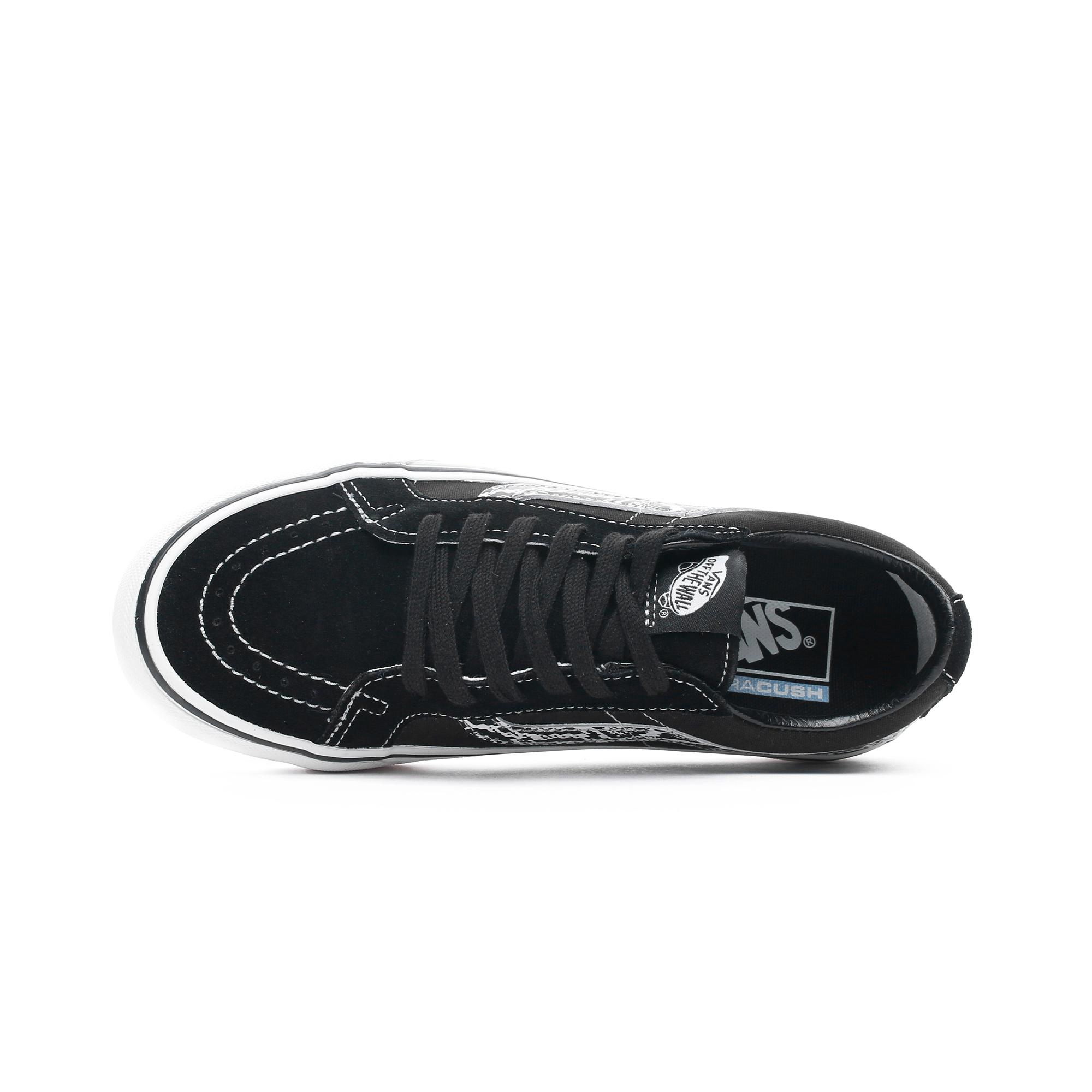 Ua Sk8-Low Reissue Sf Kadın Siyah Sneaker
