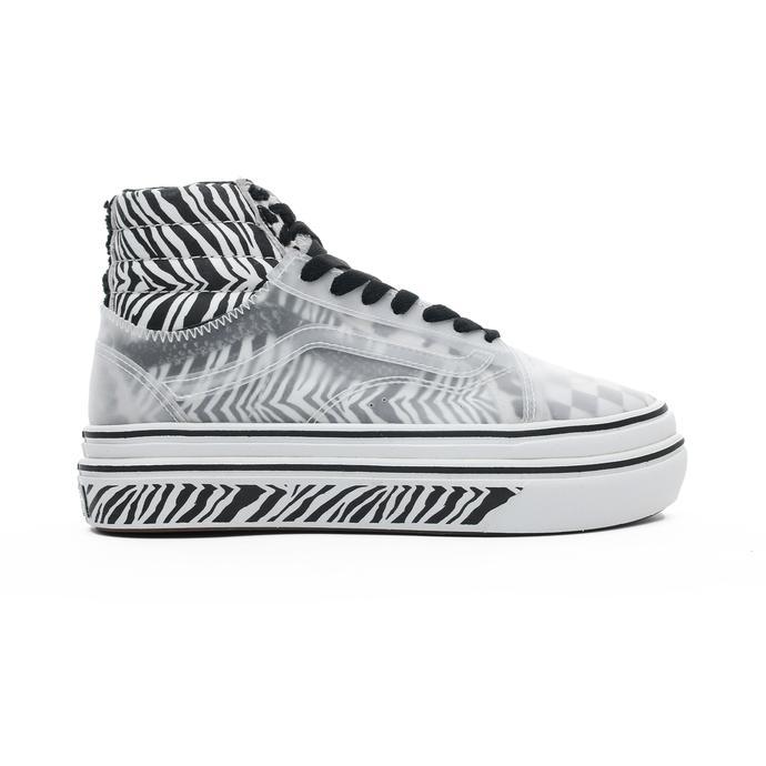 Ua Super Comfycush Sk8-Hi Skool Kadın Siyah Sneaker