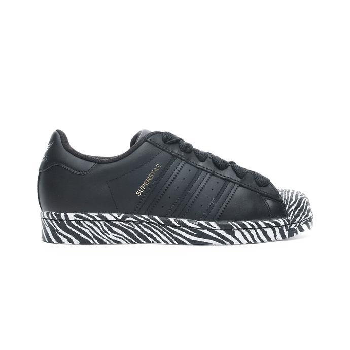 Superstar Kadın Siyah Spor Ayakkabı