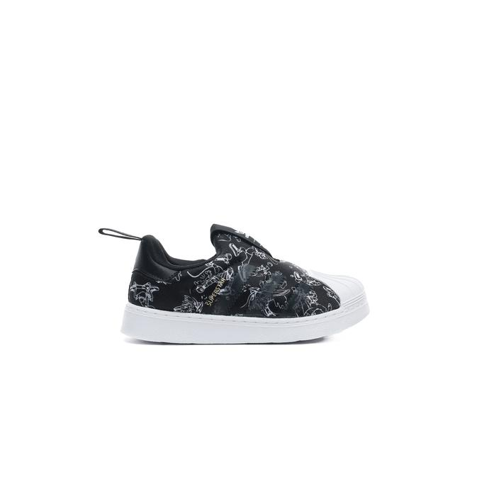 adidas Superstar 360 Bebek Siyah Spor Ayakkabı